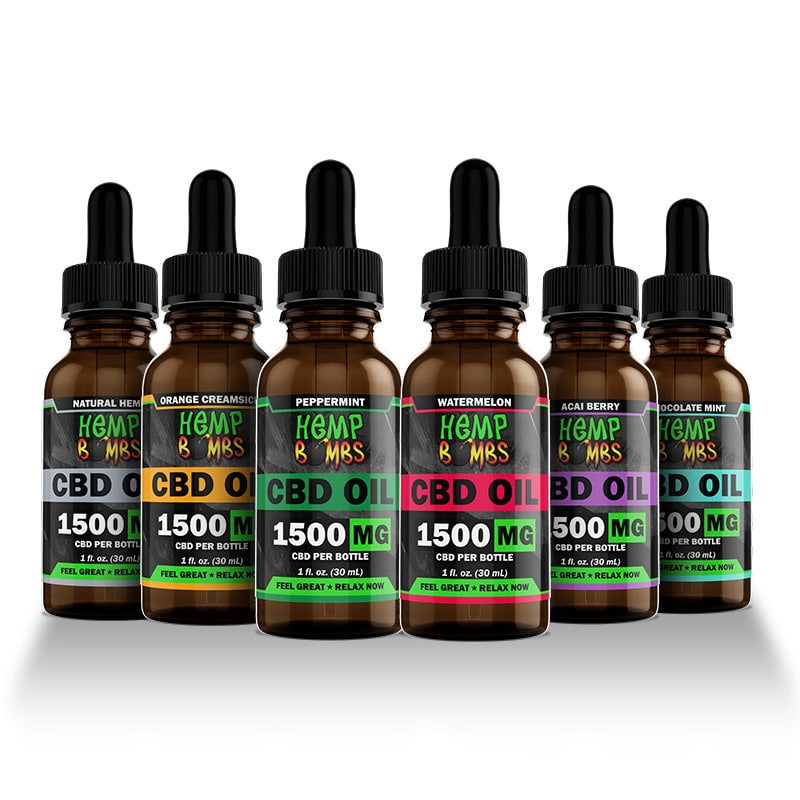 Hemp Bombs 1500mg CBD Oil