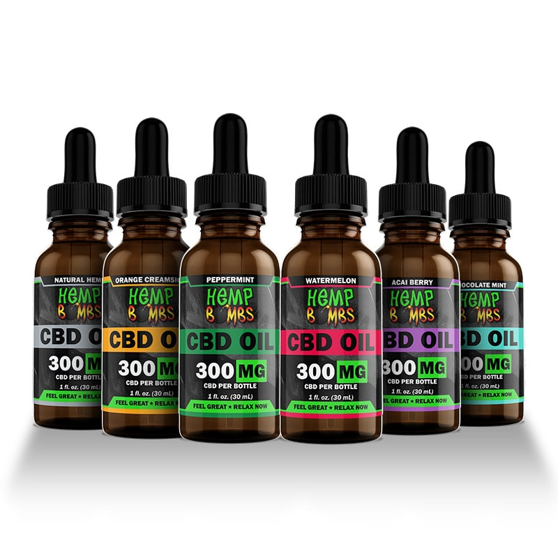 Hemp Bombs 300mg CBD Oil
