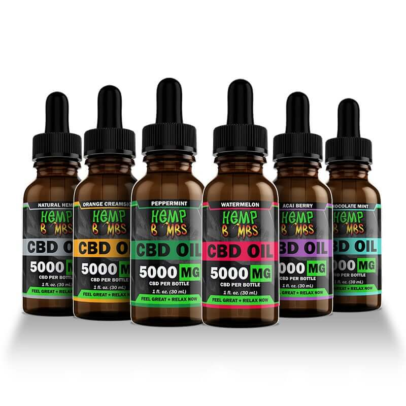 Hemp Bombs 5000mg CBD Oil
