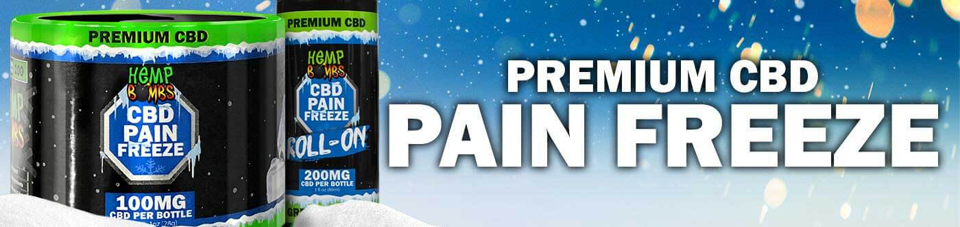 CBD Pain Freeze