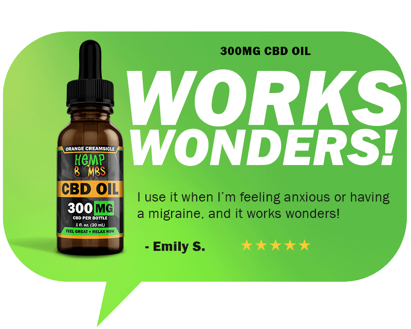 CBD Reviews - 300mg CBD Oil
