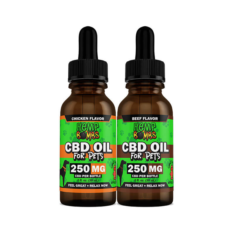 CBD Pet Products - Pet CBD Oil 250mg