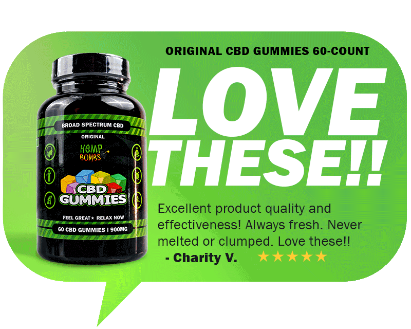 CBD Reviews - Original CBD Gummies 60-Count