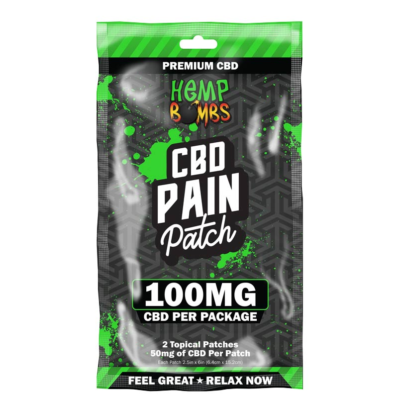 CBD Pain Patch 100mg