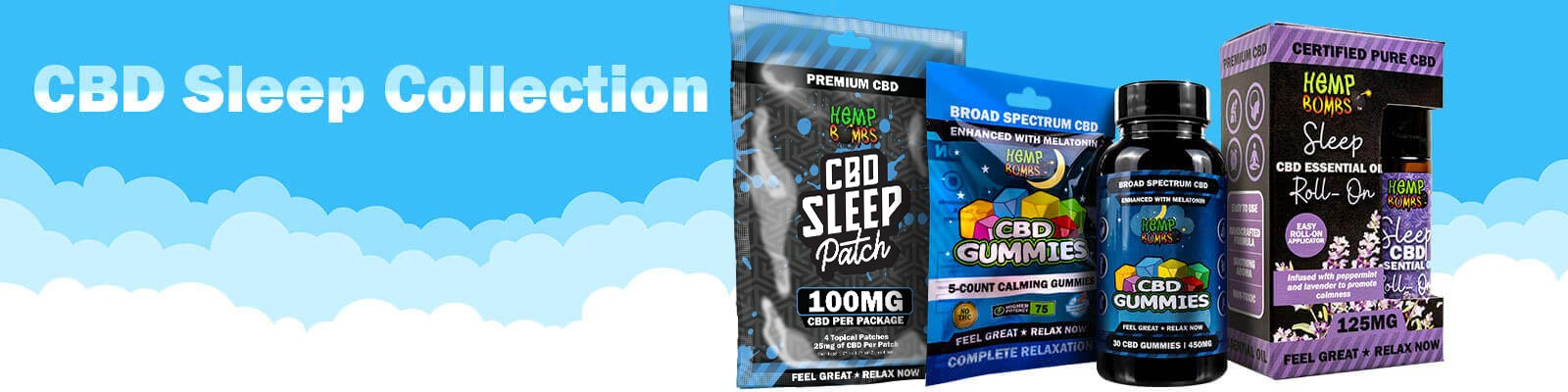 CBD For Sleep Collection