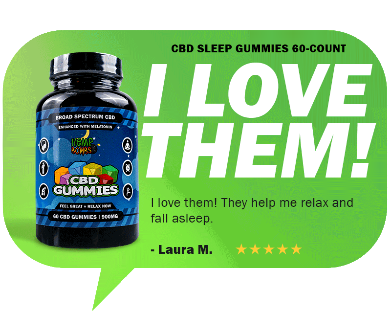 CBD Reviews - CBD Sleep Gummies with Melatonin
