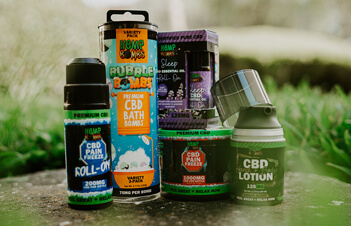 Premium CBD Products - CBD Topicals