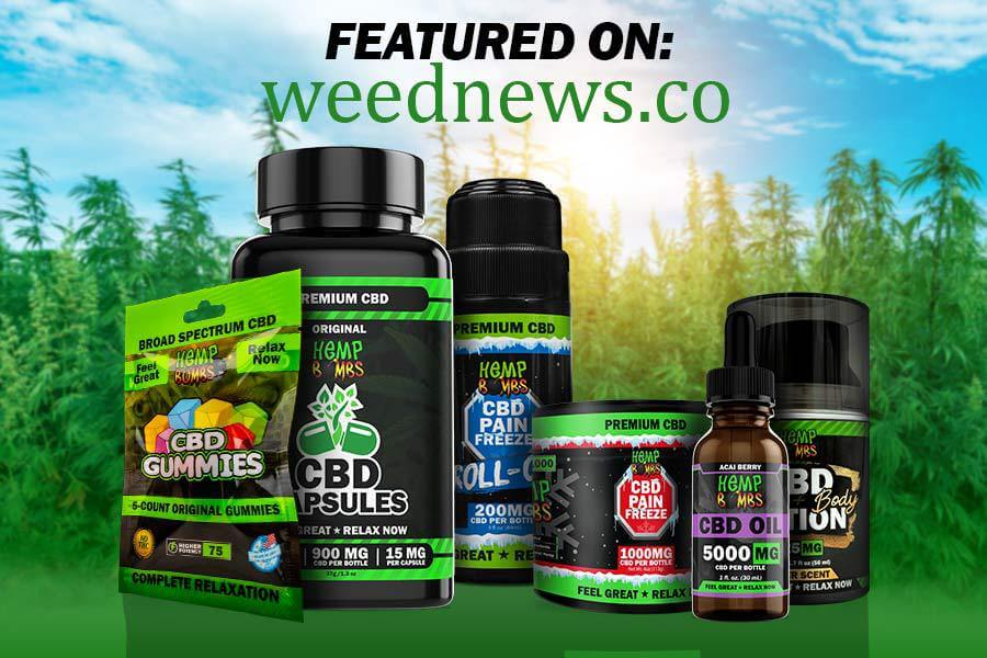Weed News Featured Hemp Bombs