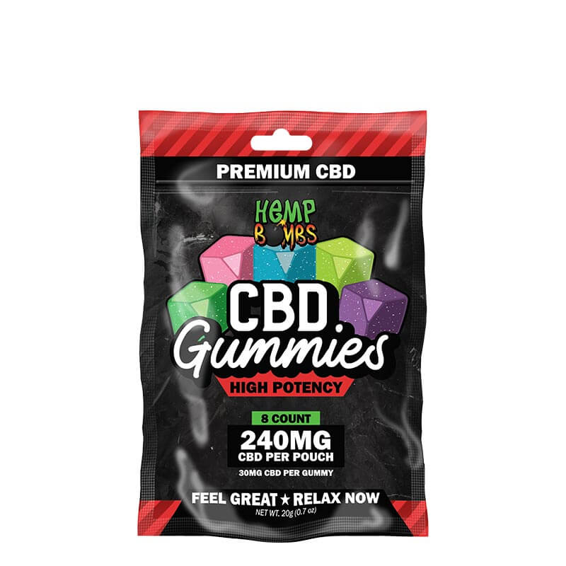8-Count High Potency CBD Gummies