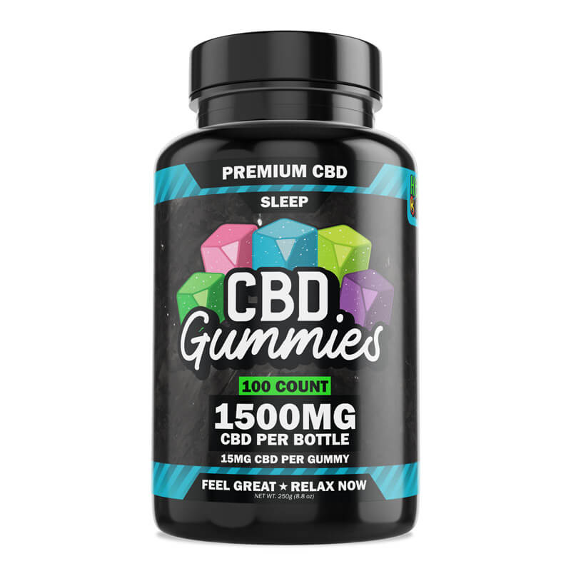100-Count CBD Sleep Gummies with Melatonin
