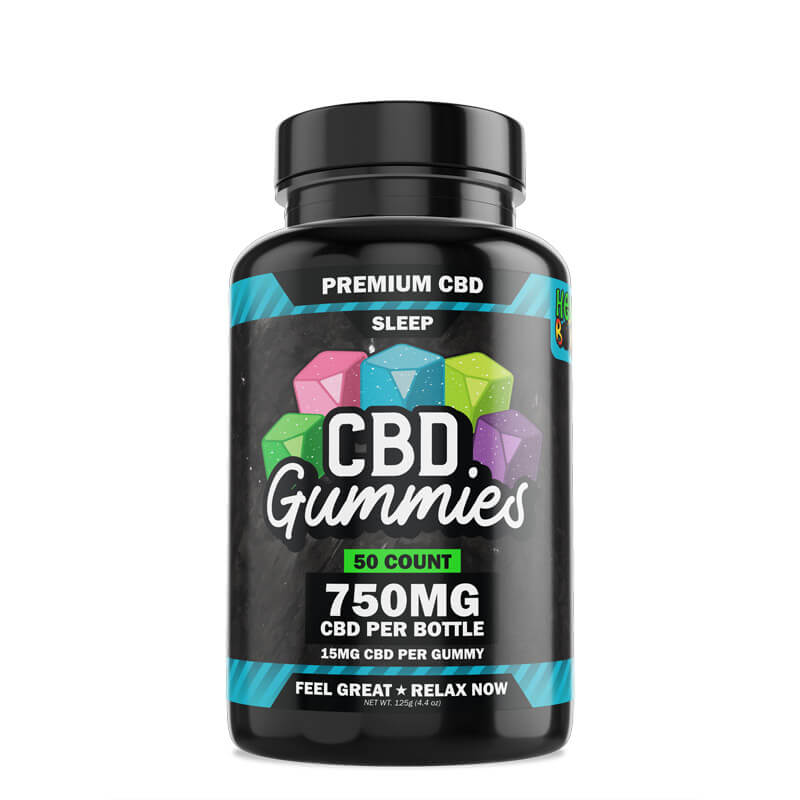 50-Count CBD Sleep Gummies with Melatonin