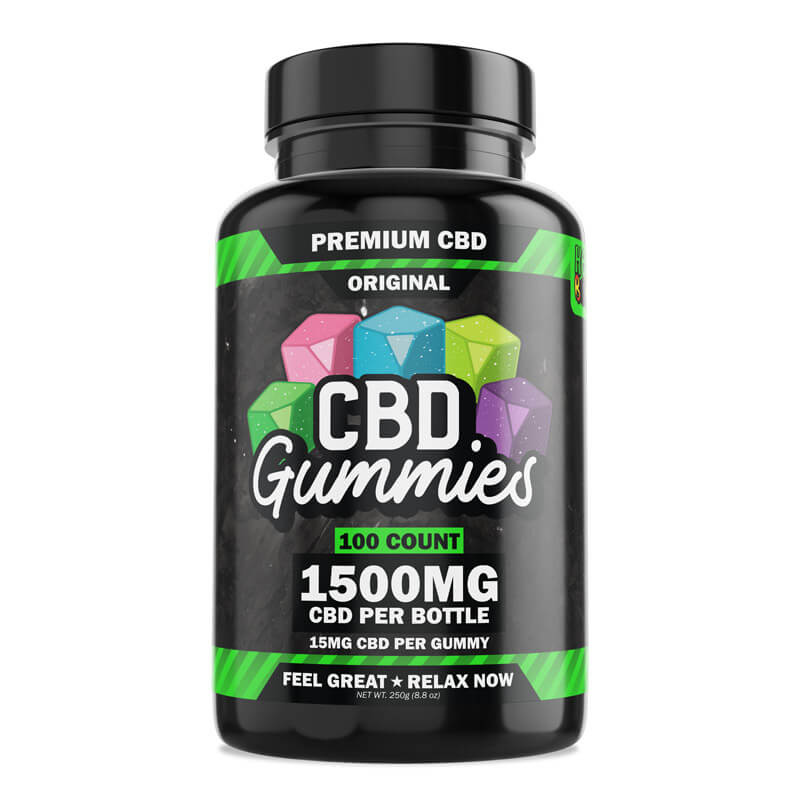 100-Count CBD Gummies - Original