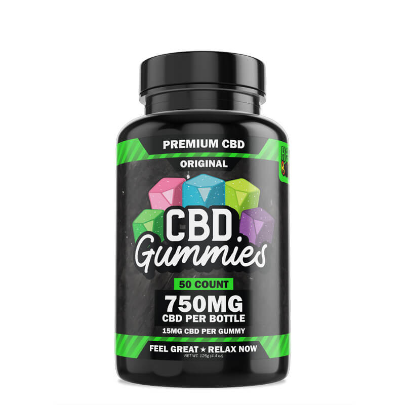 50-Count CBD Gummies Original