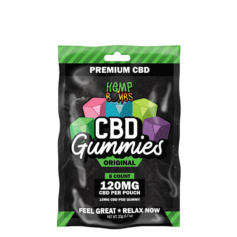 8-Count CBD Gummies Original Blend