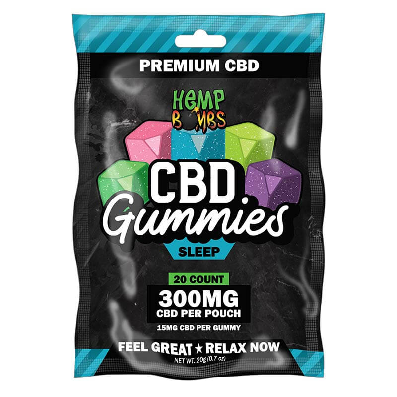 20-Count CBD Sleep Gummies with Melatonin