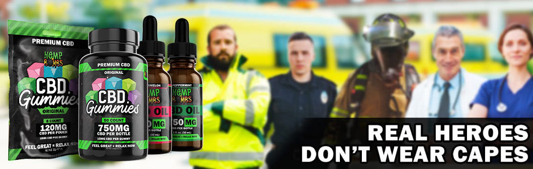 CBD Promo Codes - First Responders Discount Program