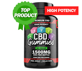 Popular Product High Potency CBD Gummies