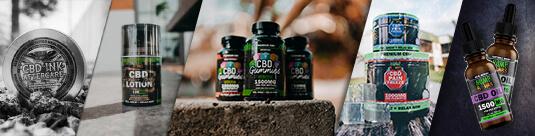 CBD Affiliate Product Shots