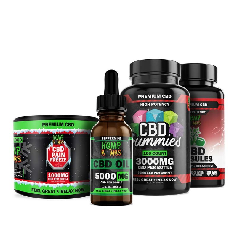 High Potency CBD Bundle
