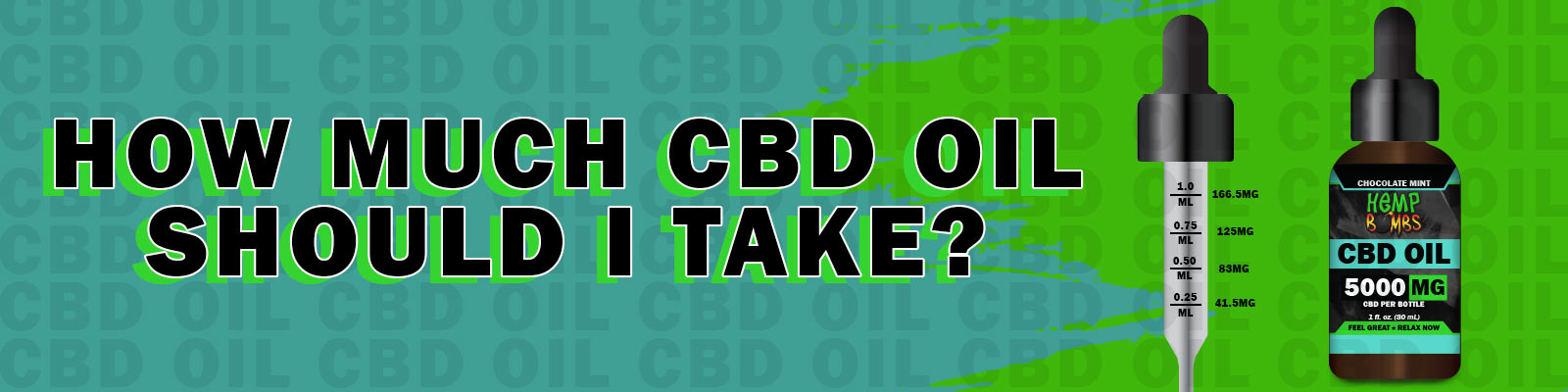 How Much CBD Oil Should I Take for Sleep, Stress