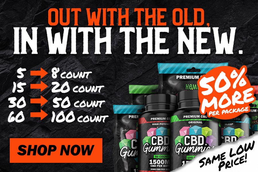 New CBD Gummies from Hemp Bombs