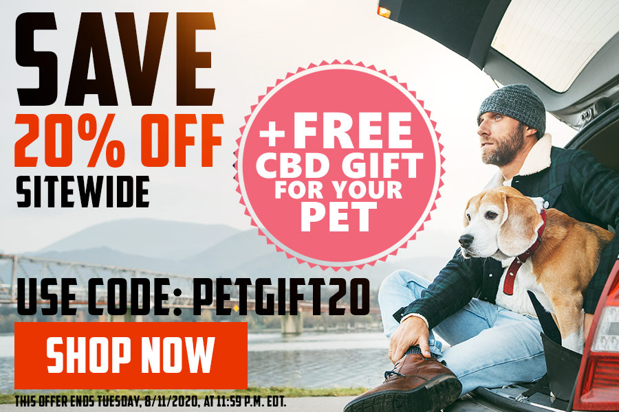 CBD Promo Codes and Free CBD Pet Gift