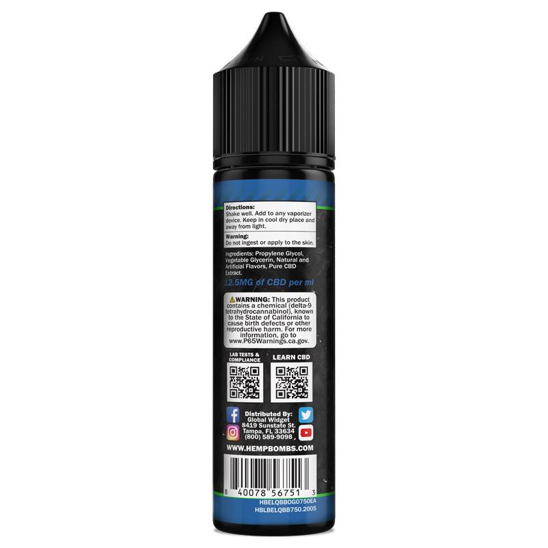 CBD Vape Oil Packaging 750mg