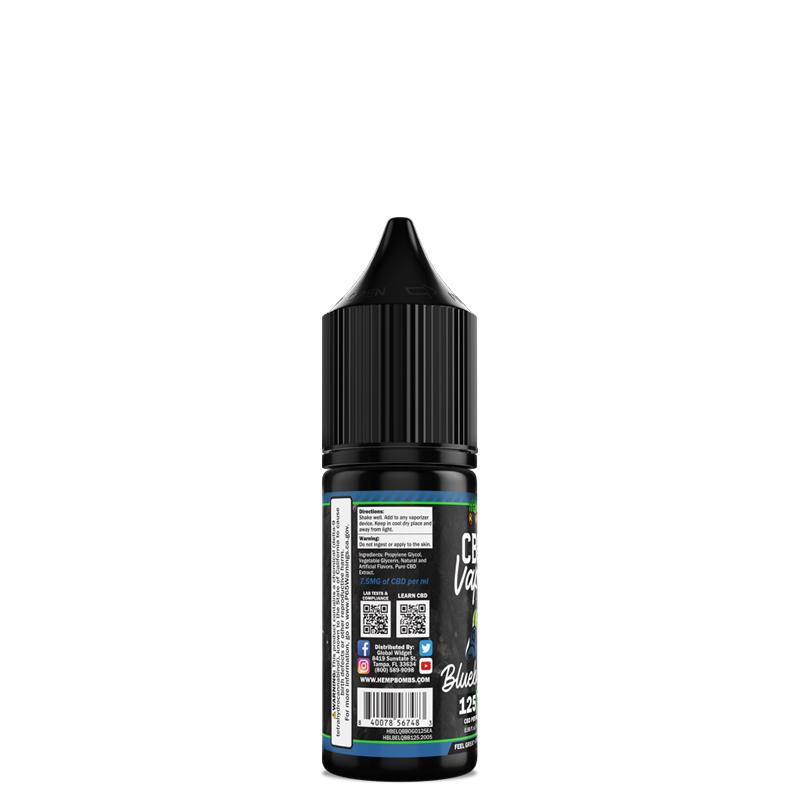 CBD E-Liquid 125mg Package