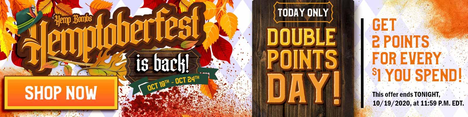 Hemptoberfest CBD Hemp Festival - Day 1 Offer