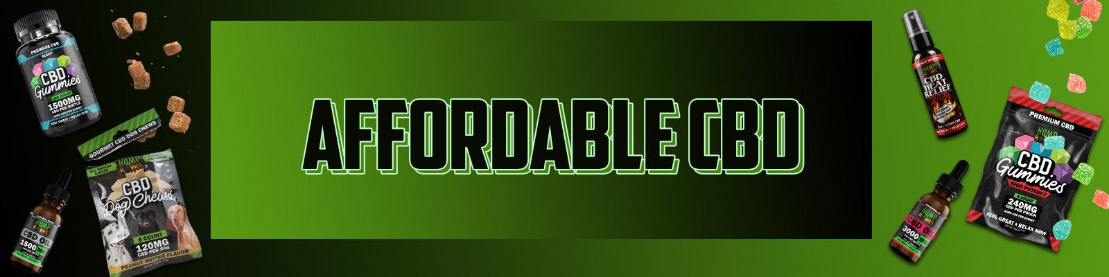 Affordable CBD
