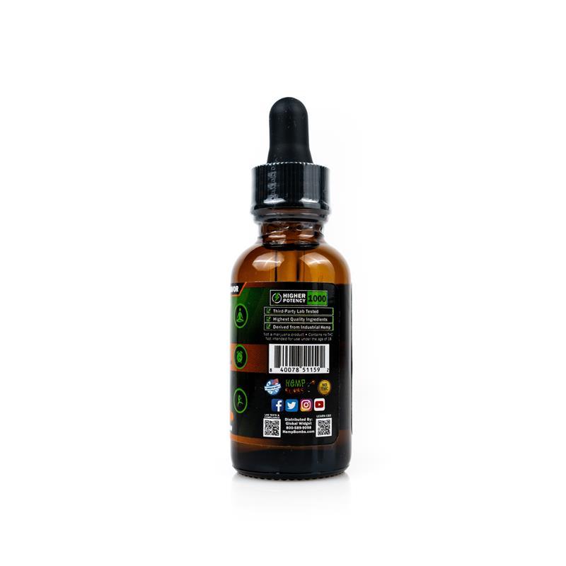 1000mg CBD Oil Orange Creamsicle Information