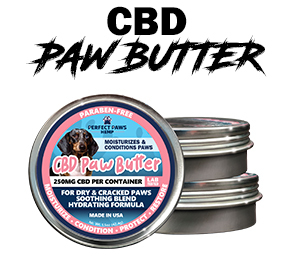 CBD Paw Butter graphic