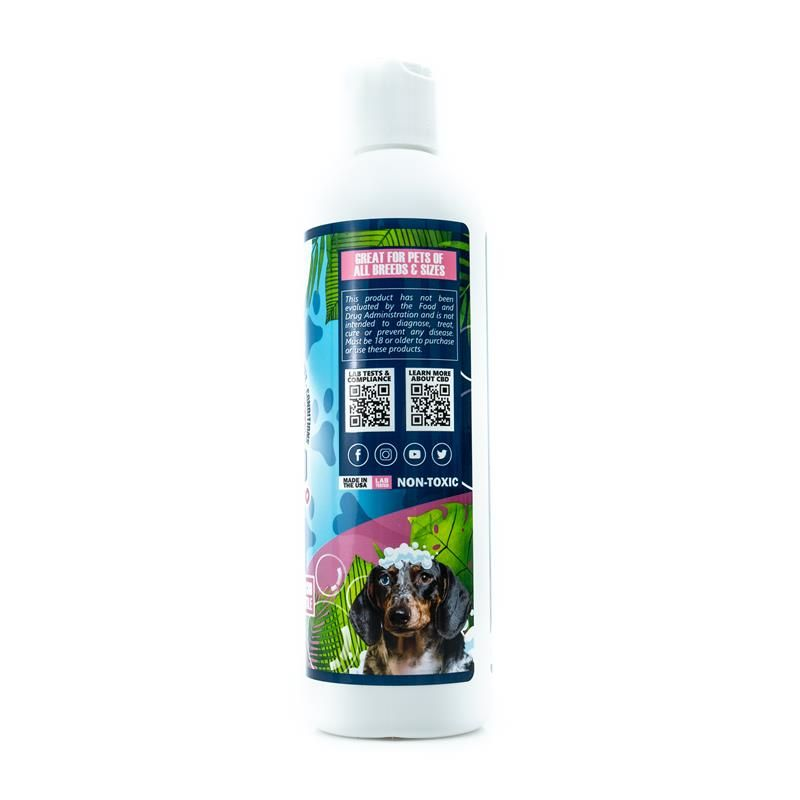 Perfect Paws Hemp CBD Shampoo and Conditioner side