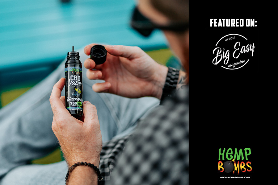 Hemp Bombs CBD E-Liquids Featured on Big Easy Magazine