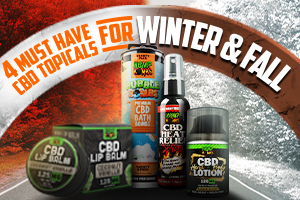 Must Have CBD Topicals for Winter & Fall