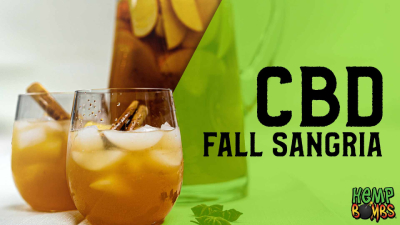 CBD Oil Recipe - Fall Sangria