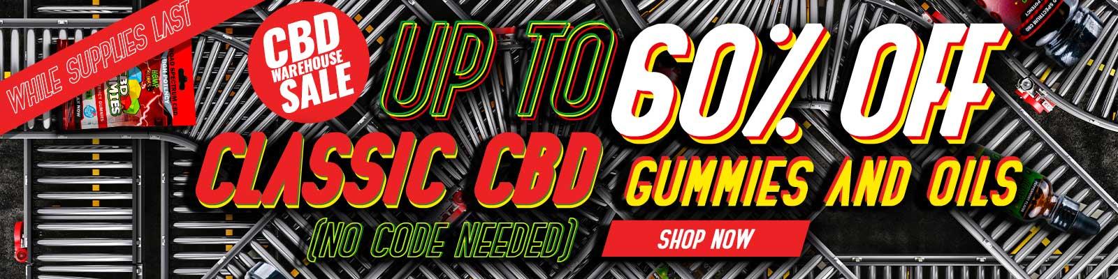 CBD Warehouse Sale