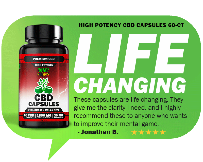 Top Rated CBD Reviews - High Potency CBD Capsules