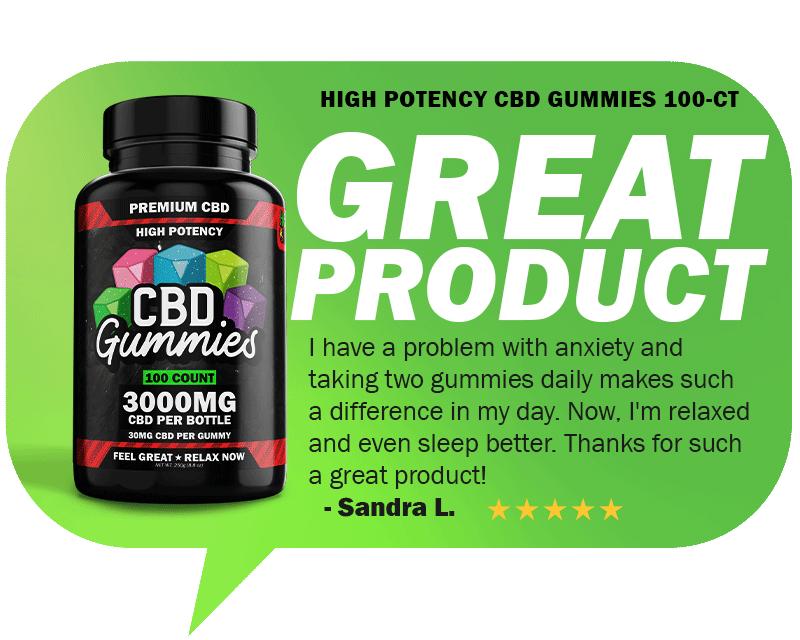High Potency CBD Gummies Reviews