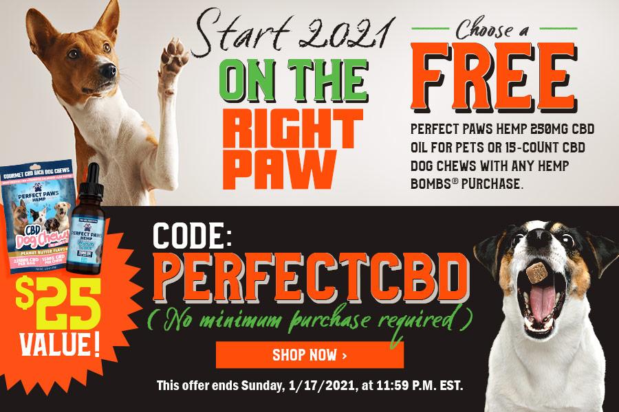 Hemp Bombs Free Pet CBD Products Sale