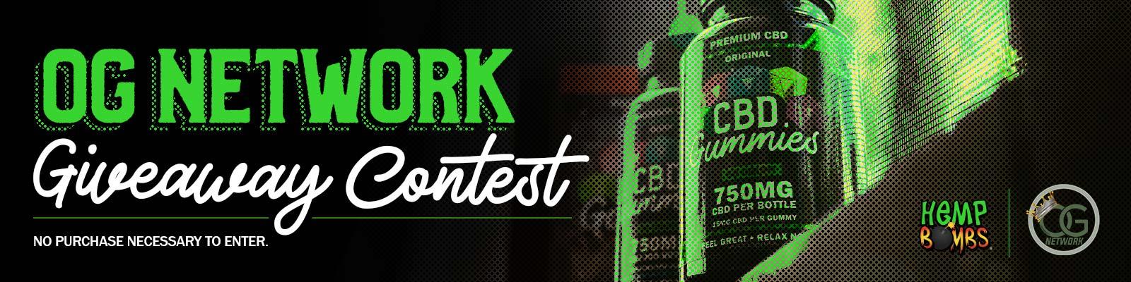 OG Network Giveaway Contest