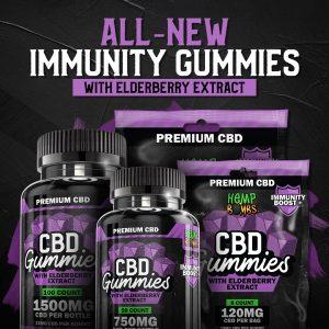 CBD Immunity Gummies