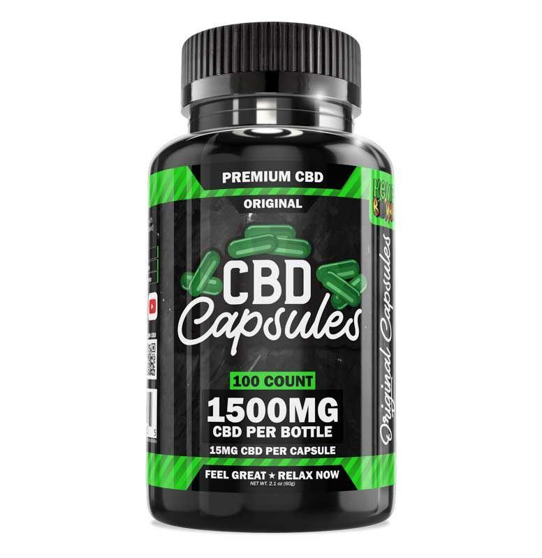 CBD Capsules 100-Count