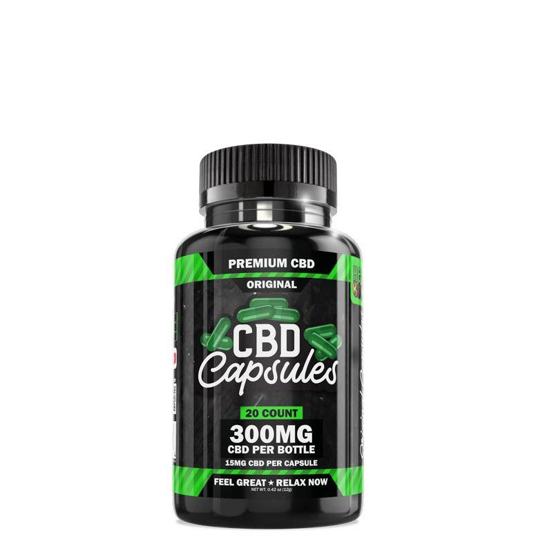 CBD Capsules 20 Count