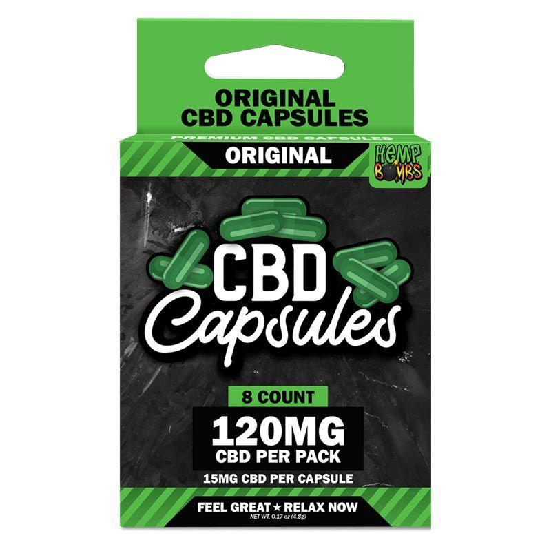 CBD Capsules 8-Count
