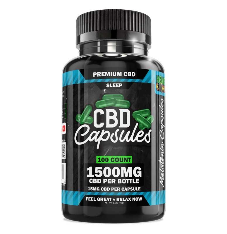 CBD Sleep Capsules 100-Count