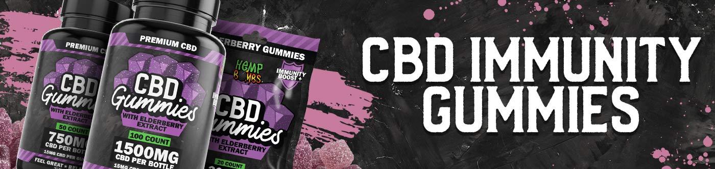 Immunity CBD Gummies Banner