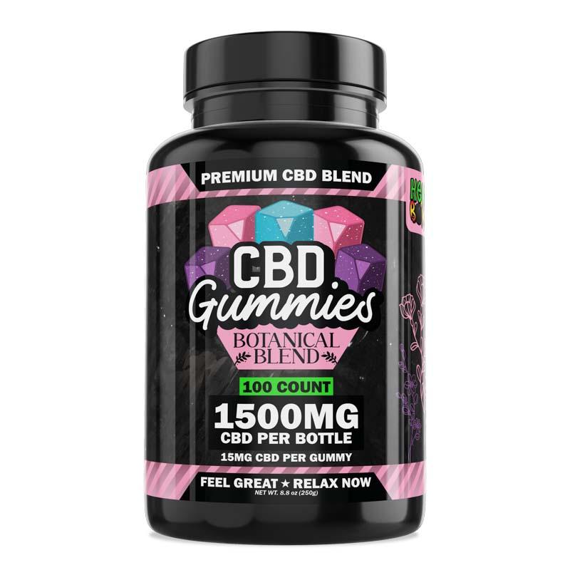 100-Count Botanical CBD Gummies