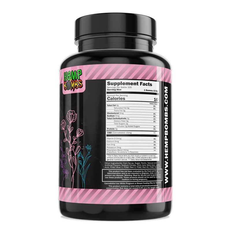 100-Count Botanical CBD Gummies right