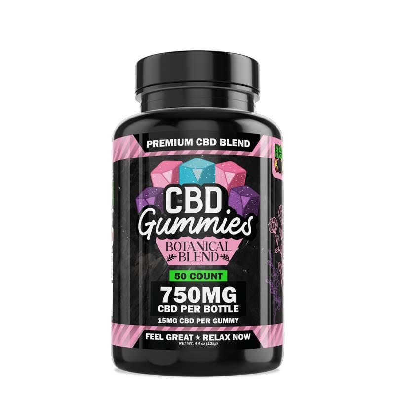 50-Count Botanical CBD Gummies